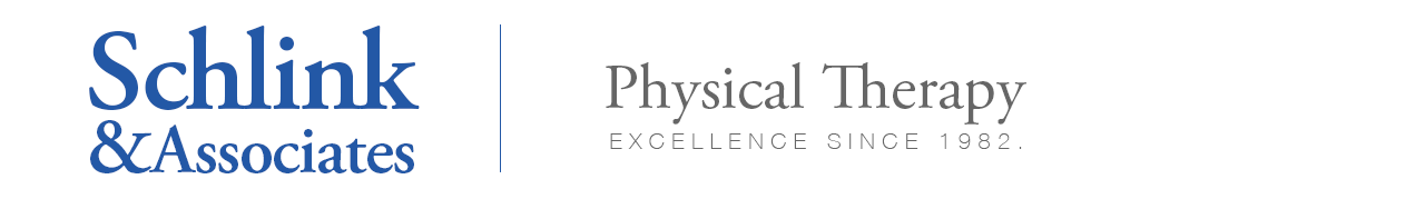 Schlink & Associates Physical Therapy: Excellence Since 1982.